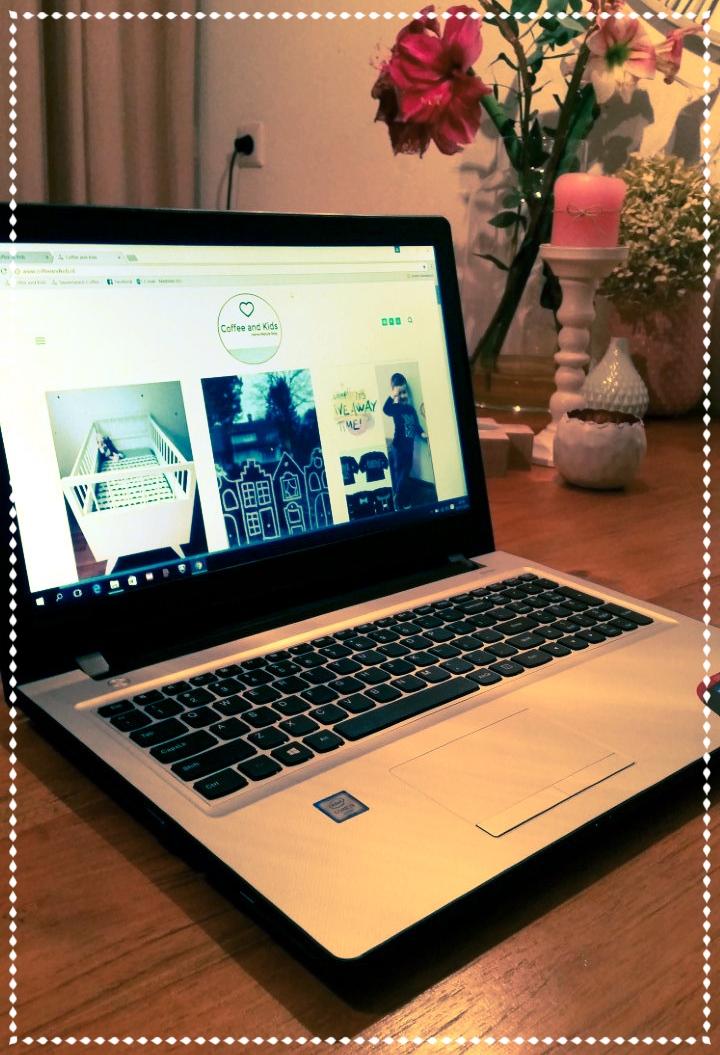 Voortaan kan ik dus lekker aan mijn blogs werken vanaf deze laptop.....#happy