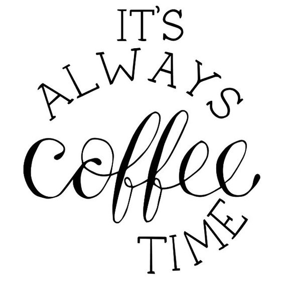 Free Printable Coffee Quotes: Kidsproof: Little Lovely Living