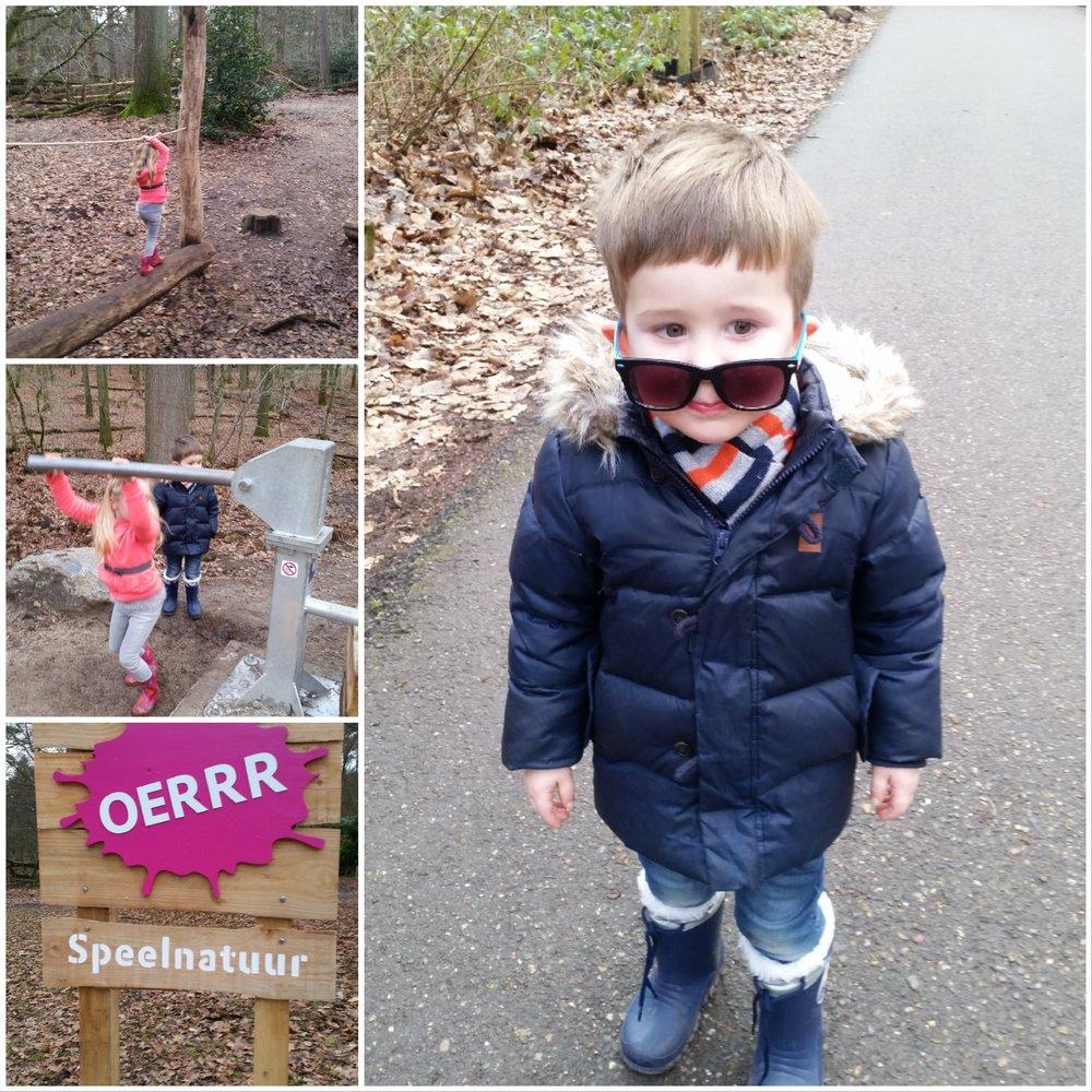 We hebben een nieuwe favoriete plek! Speelnatuur Oerrr bij Groot Speijck in Oisterwijk. Het is nog niet helemaal af, maar je kunt er al wel lekker spelen. Als het helemaal af is zullen we het eens aan een Coffee and Kidsproof test onderwerpen ;)