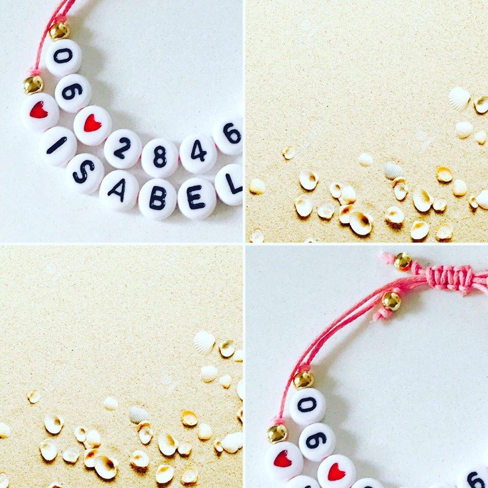 SOS armband by Brutale Aapjes, shop je item hier.