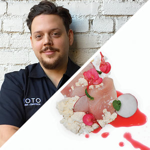 Executive Chef of Moto, Brandon Chavannes