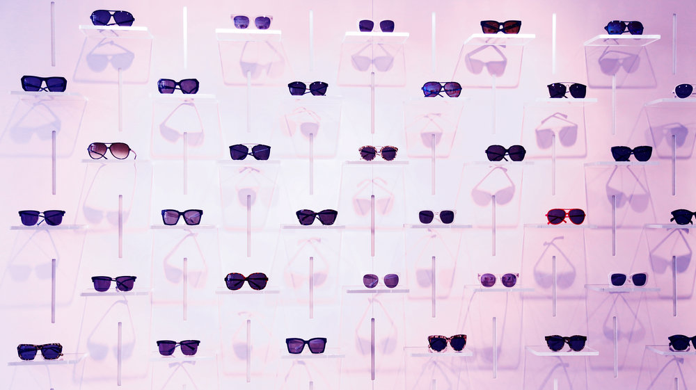 All the eyewear-#goals at the flagship store! Make sure to come by and see for yourself ;-)