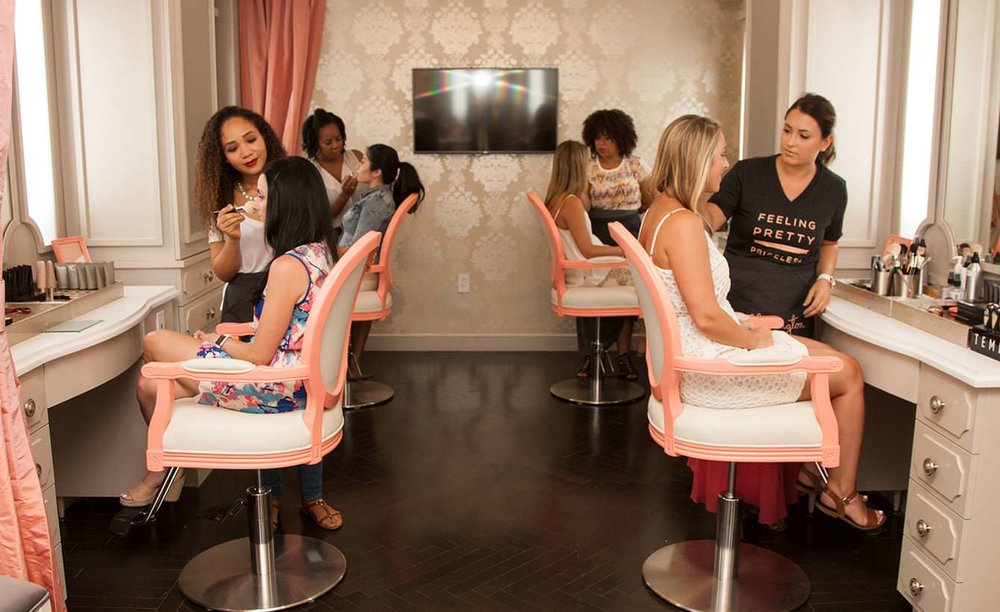 Make sure to walk into one of the NY Blushington locations to get pampered ASAP!   Image Source