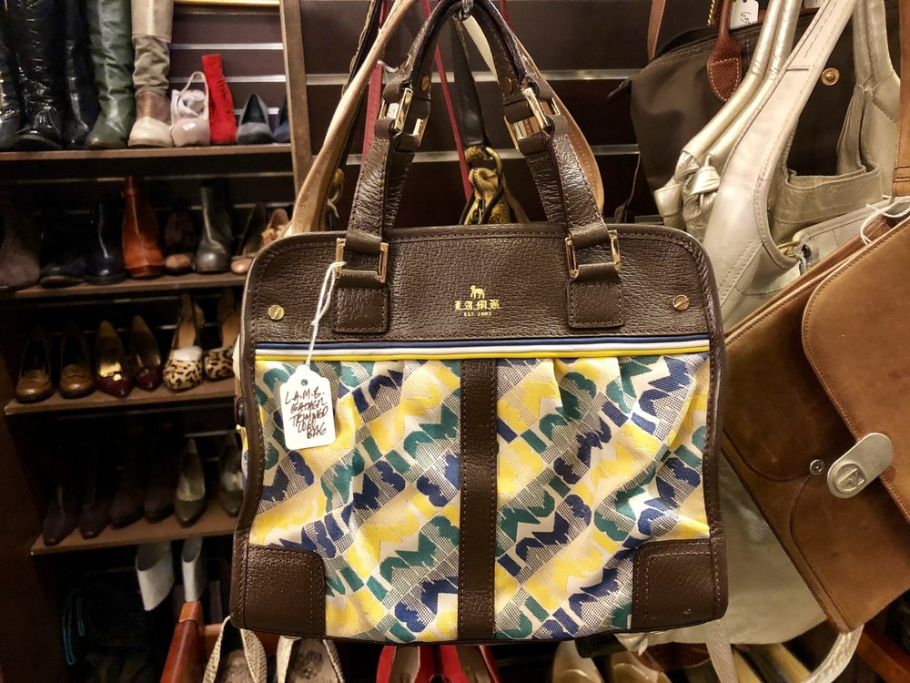 Vintage Thrift has the best selection of vintage handbags.  Photo: Samantha Coulter.