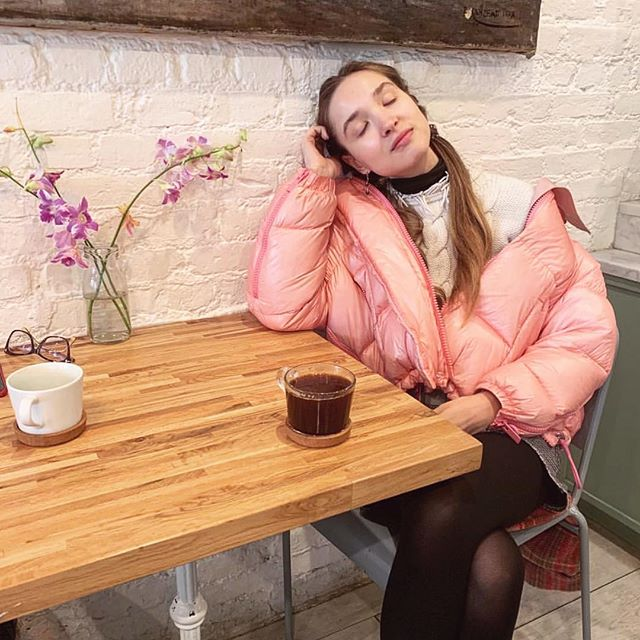 weekend ready 😴😊🥳 (Repost: @stepanova_lera) #nyufashion