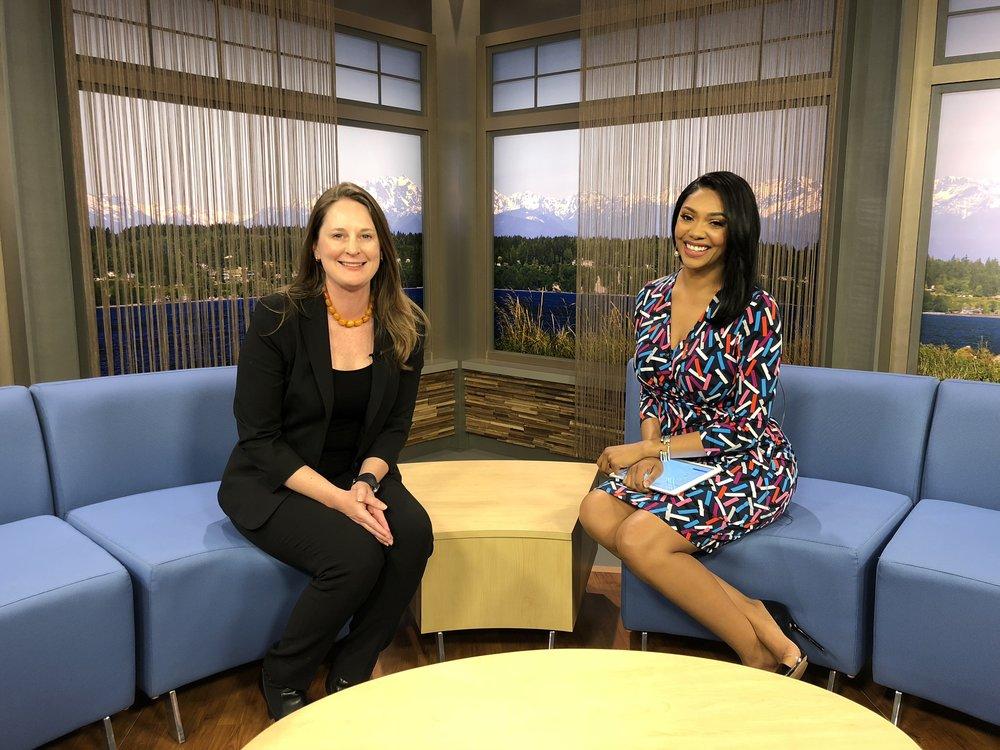 Kicking off National Infertility Awareness Week With Alexandra Lewis on Q13 News