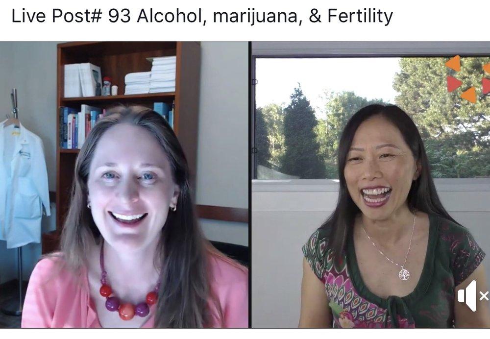 Having fun talking alcohol,marijuana, and fertility with Mary Wong