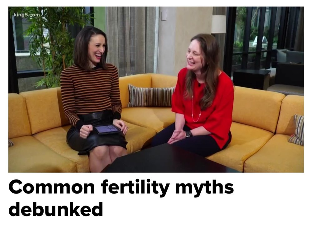 Debunking fertility myths on King 5