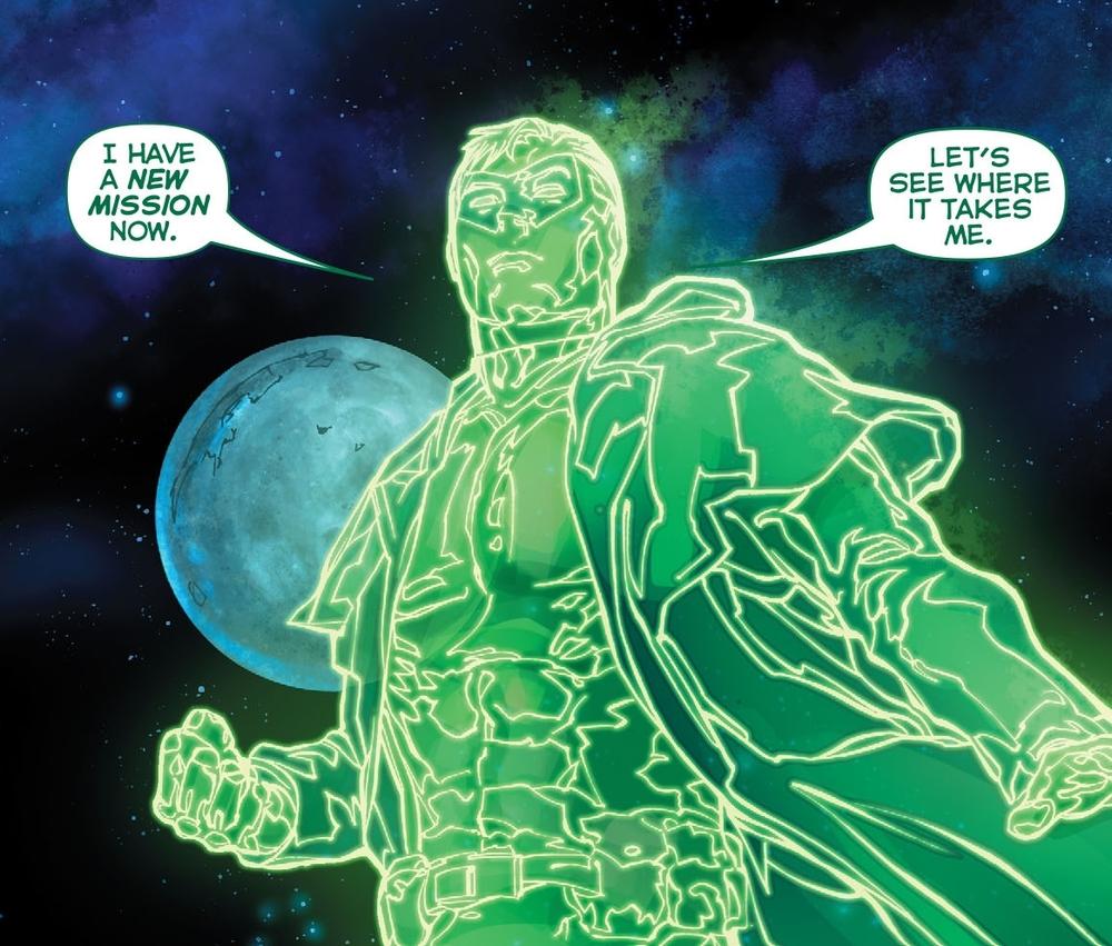 Oh, look, it's fucking Hal Jordan. Again.