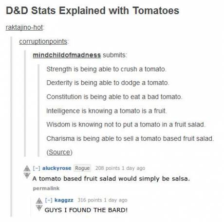 Tabletop RPG jokes! Always classic!