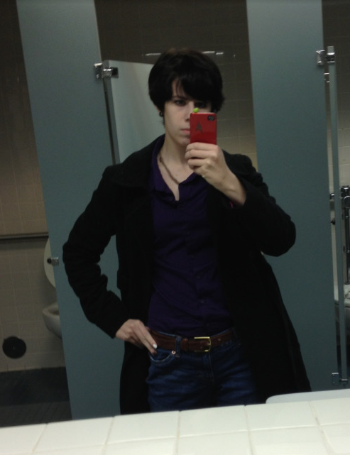 Back when I thought casual cosplay at school was a good idea