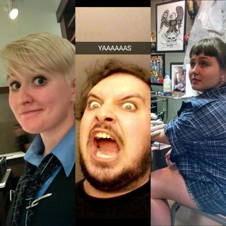 Emma, John, Charlie