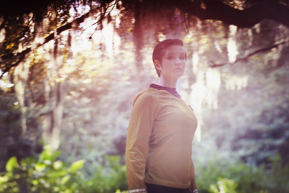 Photo by Katie Culver Jordan Noad as Spock