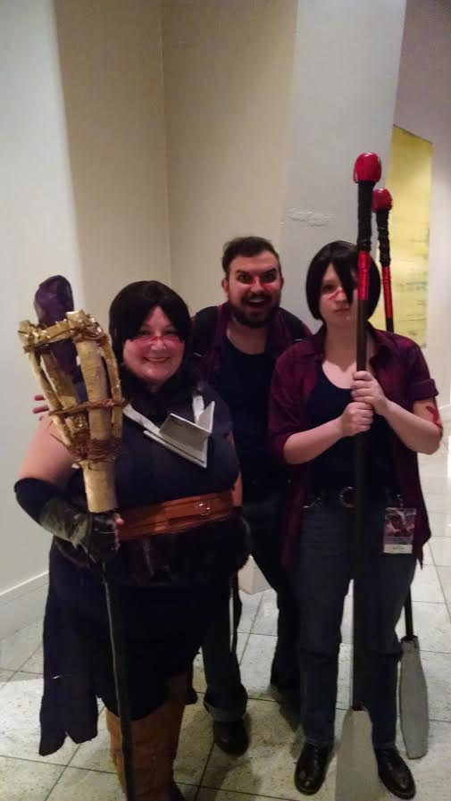 The Hawke Twins and an actual Hawke