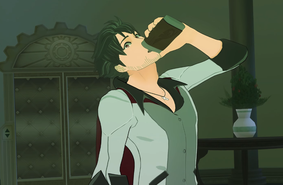 Pictured: Qrow Also John - Not sorry
