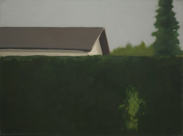 Ecologies #1, 2010, oil on linen, 45x60cm