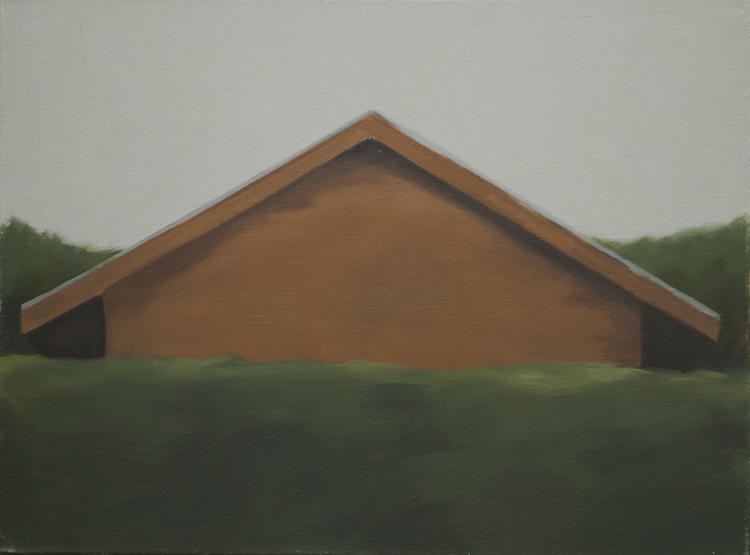 Ecologies #2, 2010, oil on linen, 45x60cm