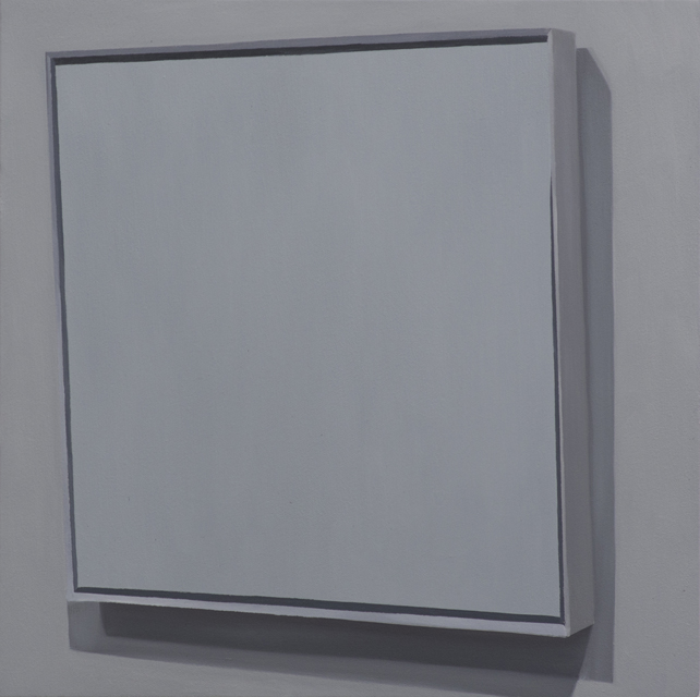 Four Squares (1915), 2015, oil on canvas mounted on panel, 53x53cm