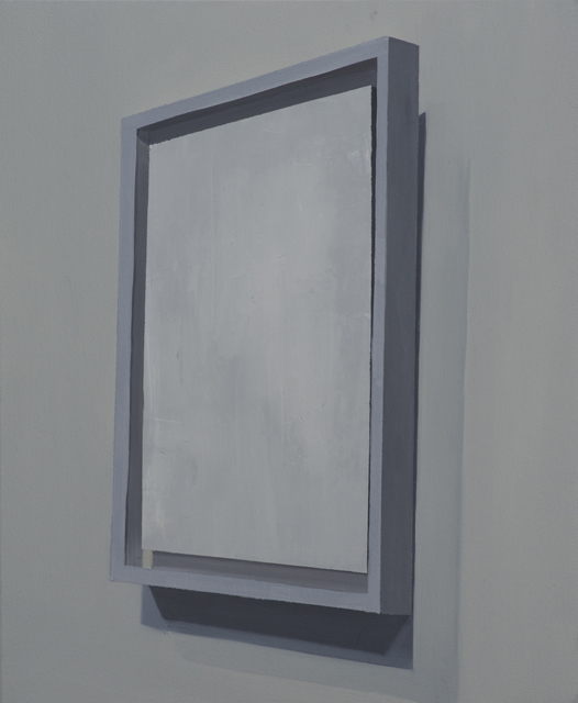 Suprematist Composition: Airplane Flying, (1915), 2015, oil on canvas mounted on panel, 58x48cm