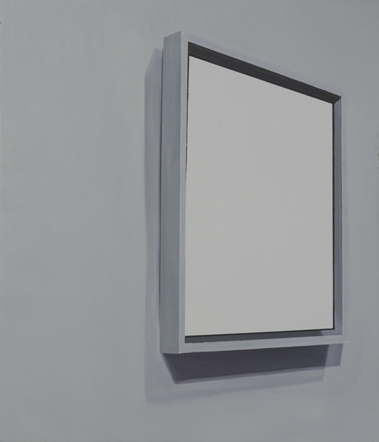 Suprematist Composition (1915), 2015, oil on canvas mounted on panel, 70x60cm