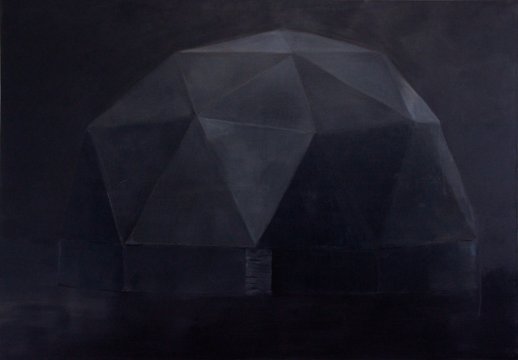 Vessel, 2010, oil on canvas, 143x203cm