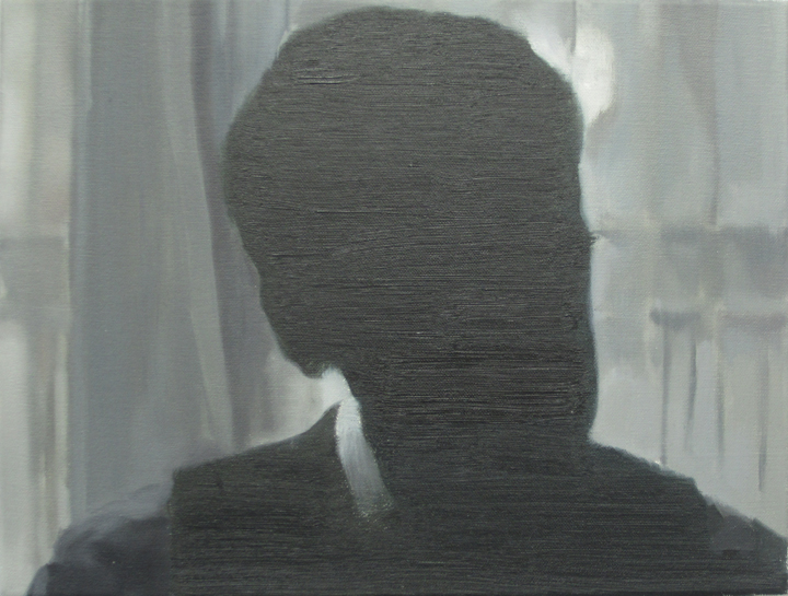 Confidences, 2011, oil on canvas, 30x40cm