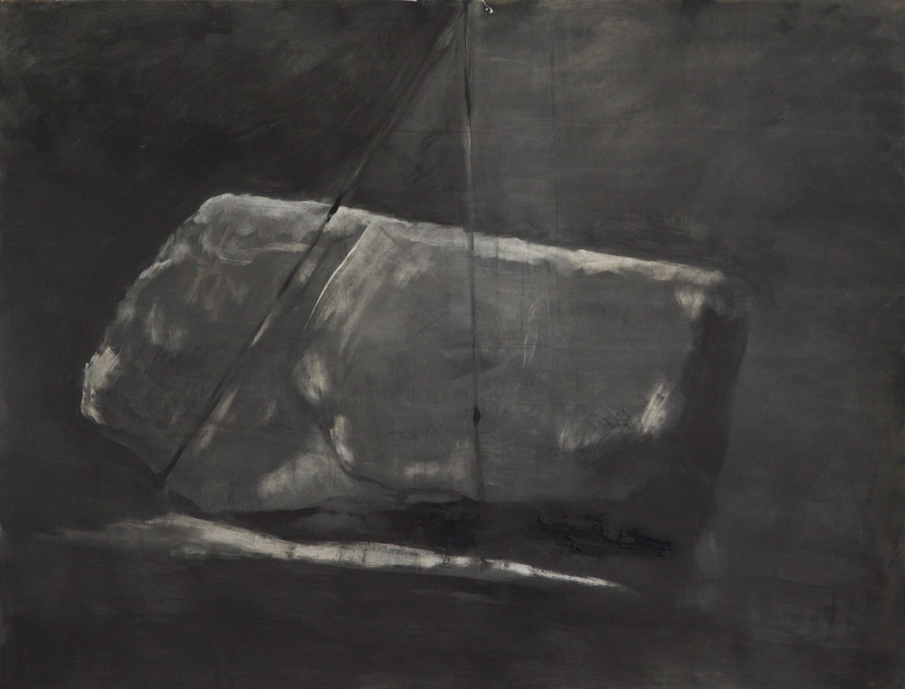 Lift, 2011, oil on paper, 98x127cm