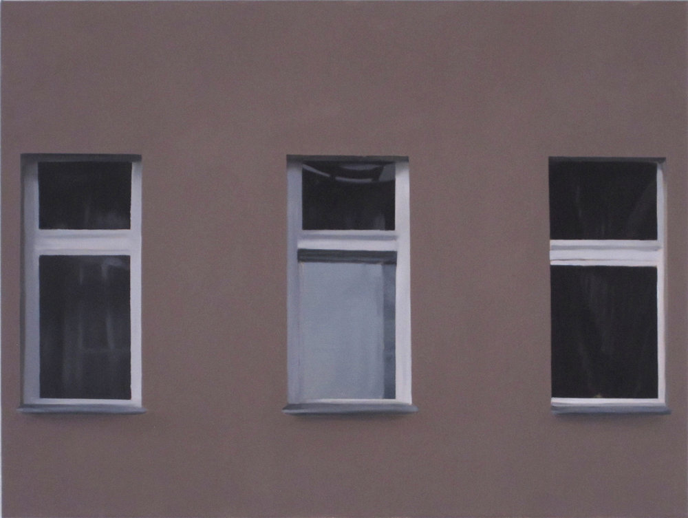 Don't Worry About Me (left), 2012, oil on canvas, 50x70cm