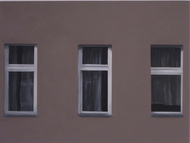 Don't Worry About Me (right), 2012, oil on canvas, 50x70cm