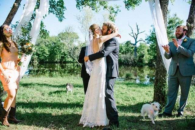 We love that you can celebrate your first married kiss with your family, friends, and pets at The Ball Farm! #DogsOfHonor #PetsAreFamilyToo #TheBallFarm⠀⠀⠀⠀⠀⠀⠀⠀⠀ .⠀⠀⠀⠀⠀⠀⠀⠀⠀ .⠀⠀⠀⠀⠀⠀⠀⠀⠀ Photo: @white.light.exposure⠀⠀⠀⠀⠀⠀⠀⠀⠀ .⠀⠀⠀⠀⠀⠀⠀⠀⠀ . ⠀⠀⠀⠀⠀⠀⠀⠀⠀ #wedding #weddinginspo #laidbackwedding #partywedding #festivalwedding #weddingphotographer #weddingadvice #weddingcouple #weddingideas #love #sunsets #farm #beautiful #austintexas #houstontexas #sanantoniotexas #venue #ballfarmweddings #ballfarm #theballfarm