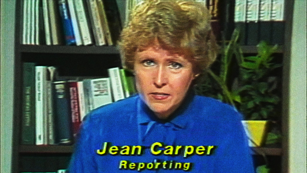 "Carper was CNN's first medical correspondent in 1980, winning an ACE award for a series on brain cancer. (Screenshot from ""Monster in the Mind,"" Carper, J. Producer, 2017)"