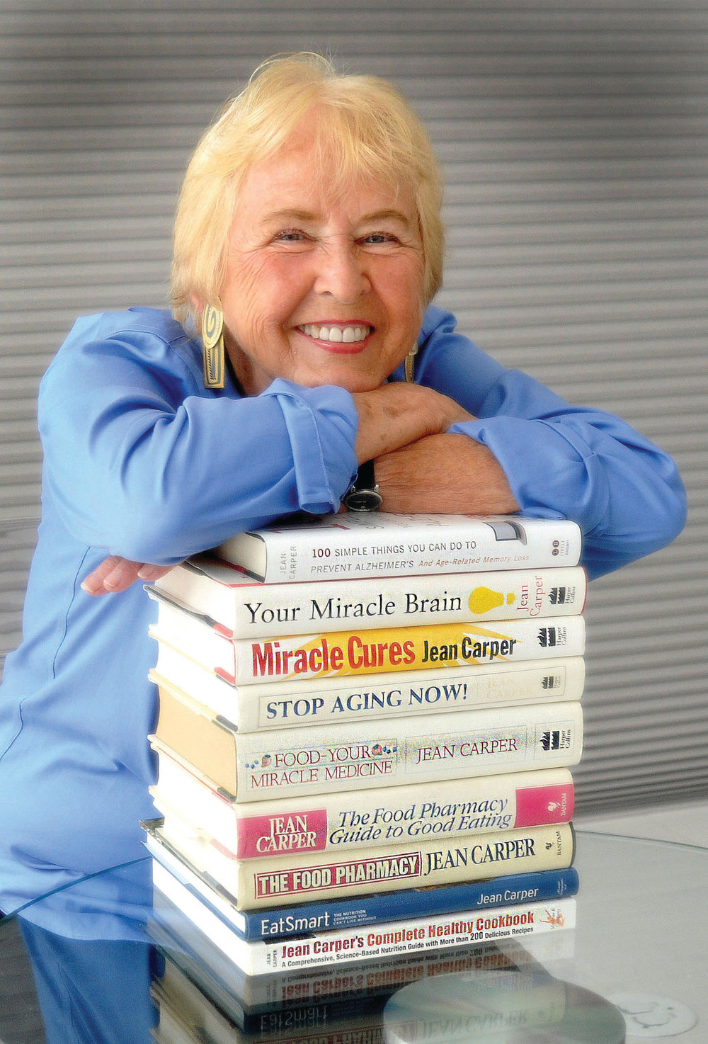 Jean Carper is the best-selling author of 24 books, most on health, nutrition, aging and the brain. (Photo by Richard Watherwax.)