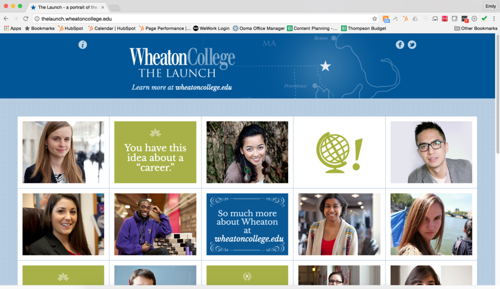 Wheaton College - The Launch Campaign