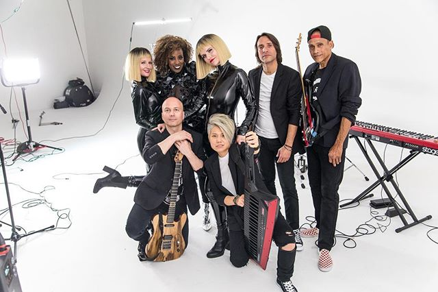 I did BTS photos for this awesome group @soulrisingband . Their music video just released today and is pretty awesome!
