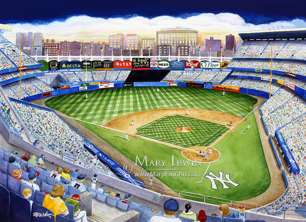 Yankee Stadium, The House That Ruth Built'  by Mary Irwin
