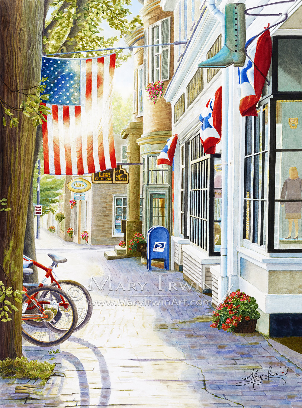 Old Town, USA  by Mary Irwin