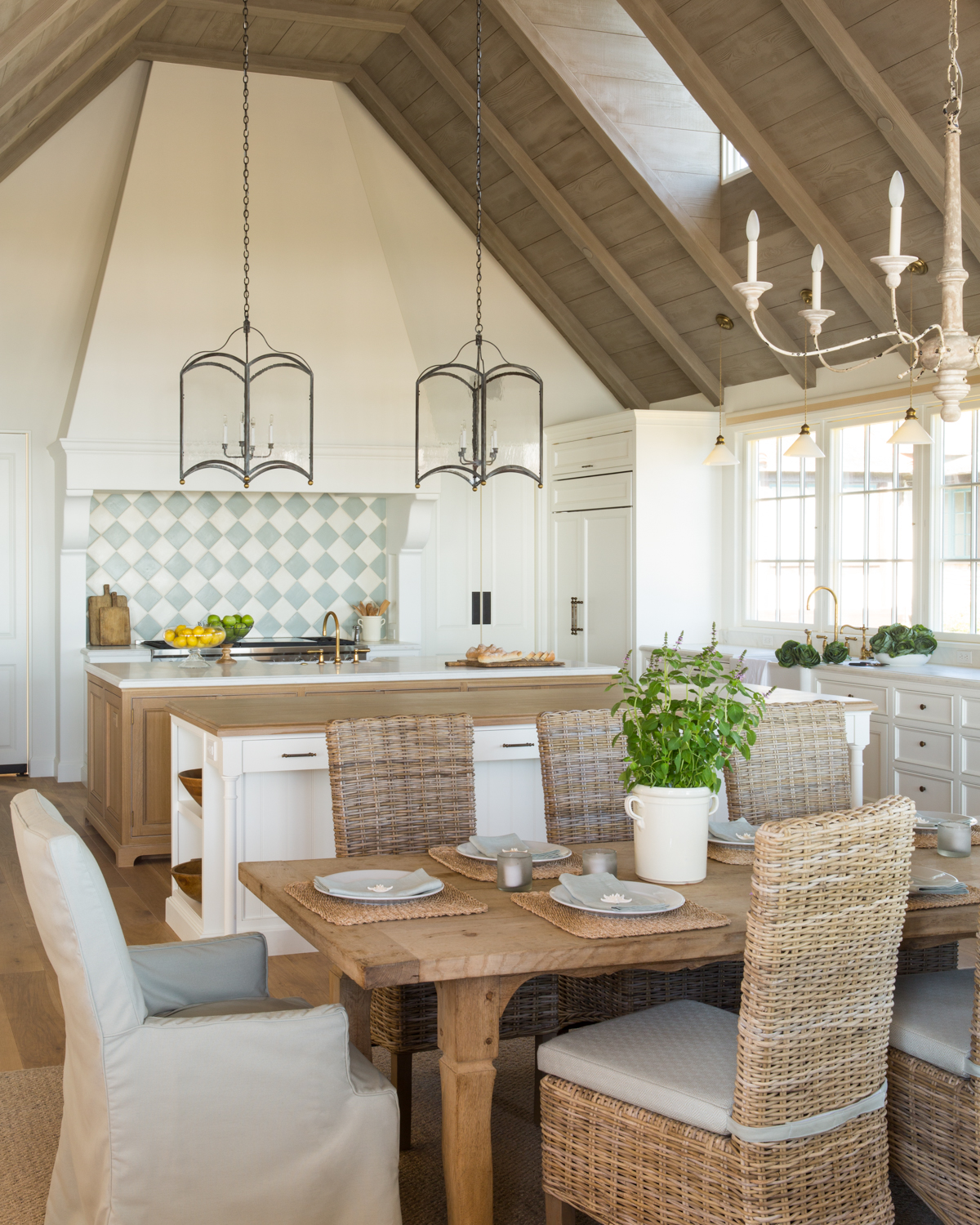 Stunning French Normandy Style Beach House Tour - Hello Lovely
