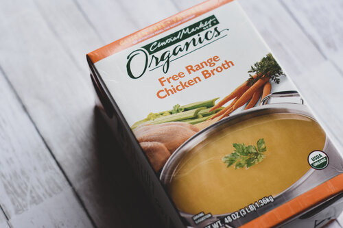 Chicken broth for Spaghetti Squash Noodle Ramen| Keto Friendly, Low-Carb