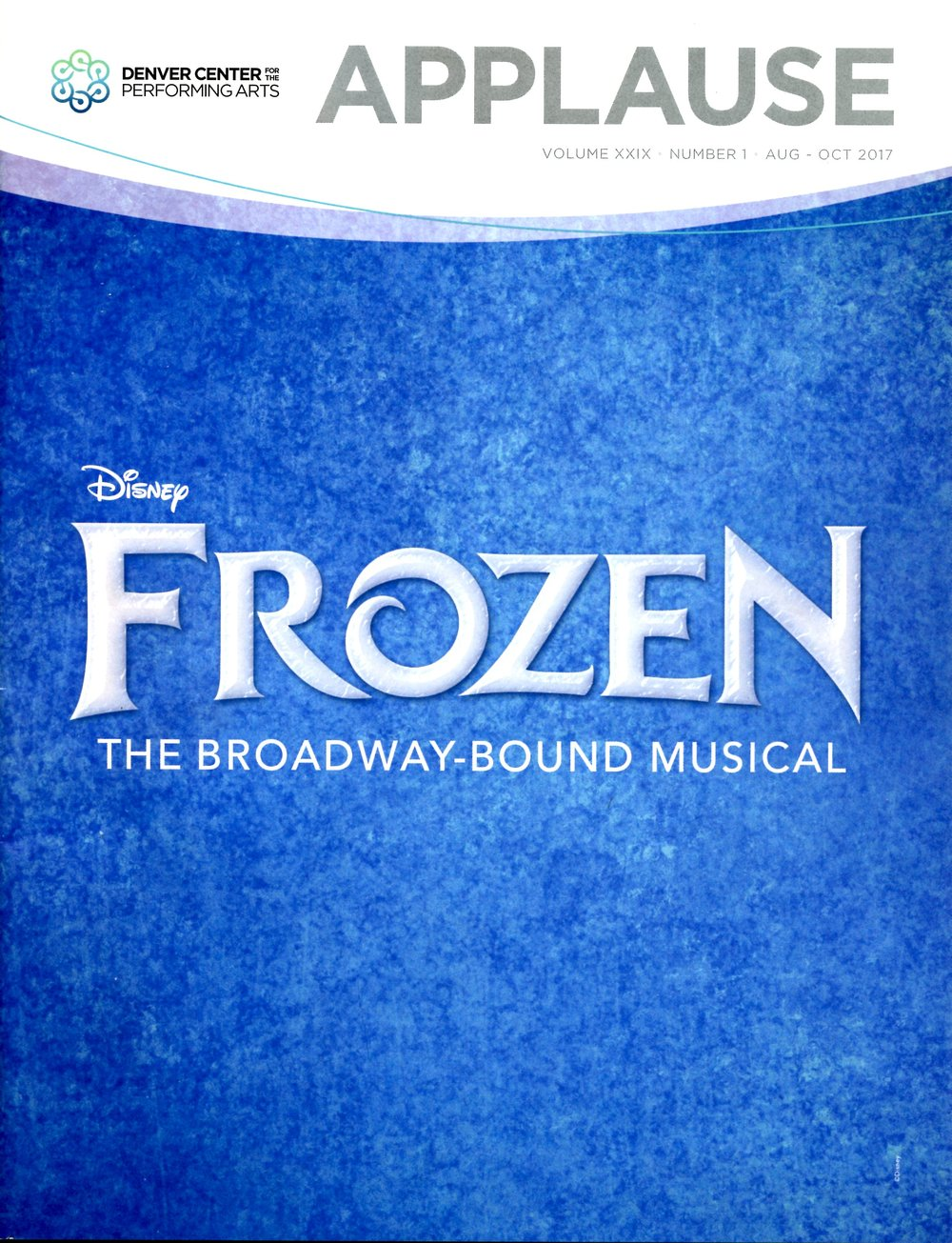 Denver  Applause  Frozen Edition