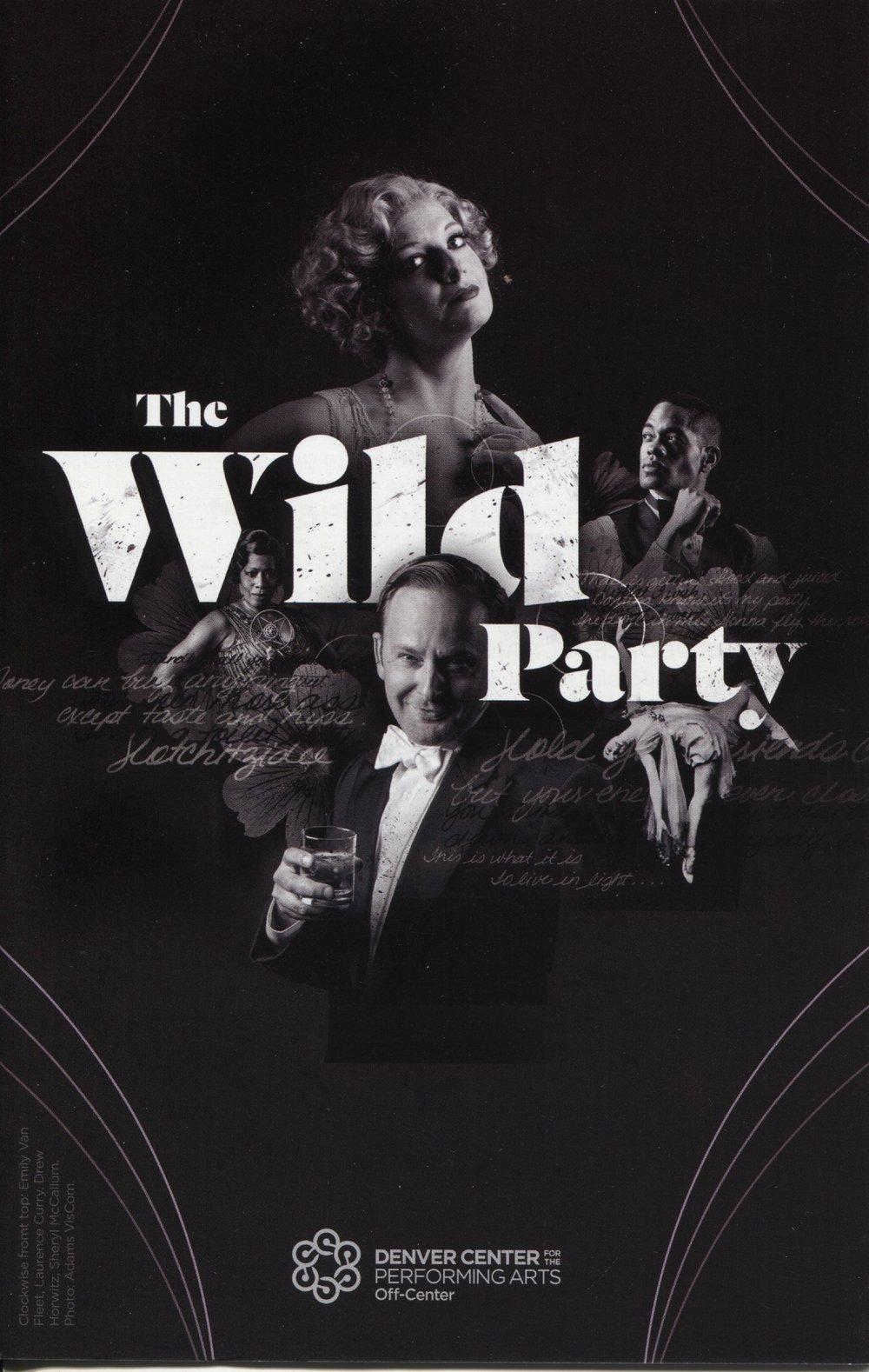 Denver Center Off-Center's  The Wild Party