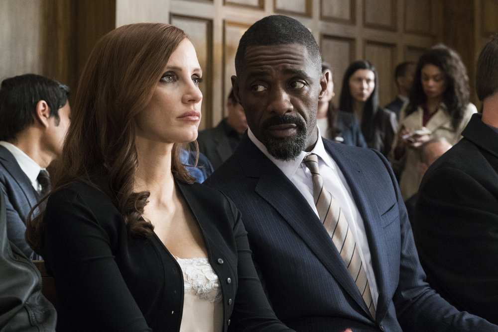 Jessica Chastian and Idris Elba
