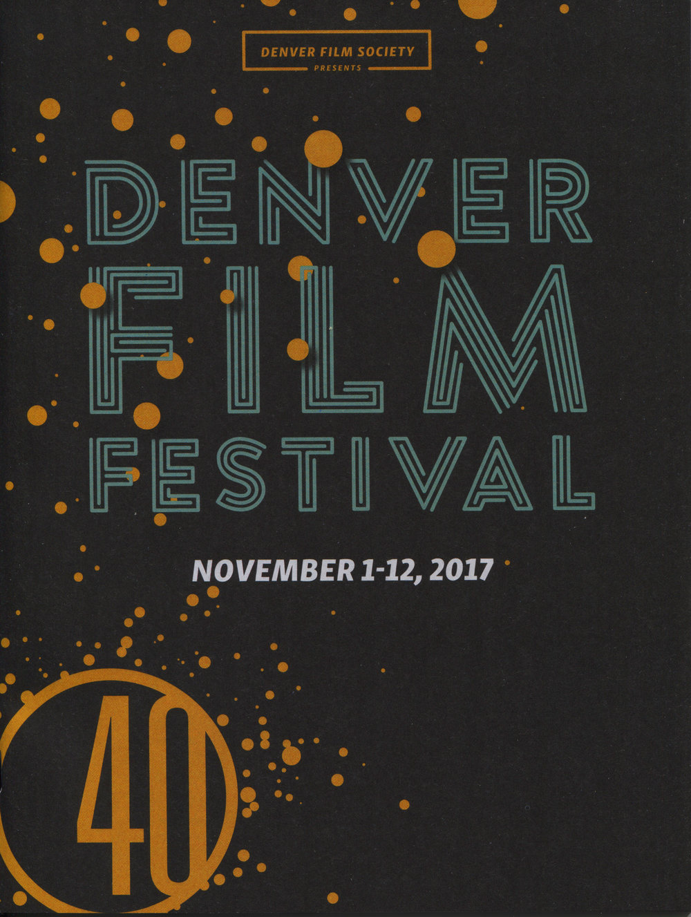 Denver Film Festival 40 Program