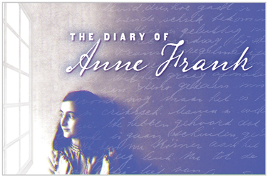 The Diary of Anne Frank Banner