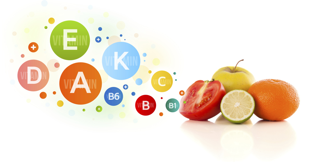 A balanced diet can sufficiently supply necessary vitamin and mineral intake