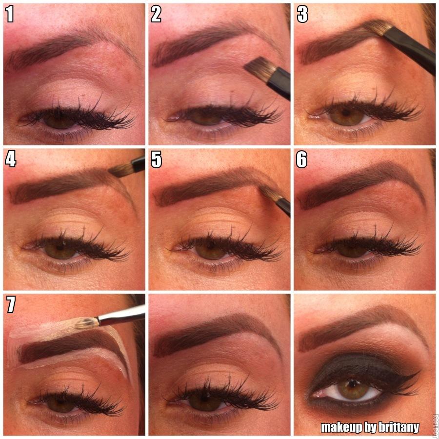 Eyebrow Step By Step Esteem