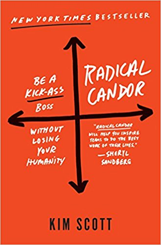 Radical Candor: How to Be a Kick-Ass Boss Without Losing Your Humanity    by Kim Scott