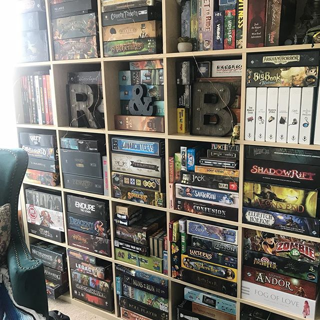 Did a little game cull and reorganizing— how do you keep your game collection from getting out of control? #boardgames #bgg #cardboardaddiction  #analoggames