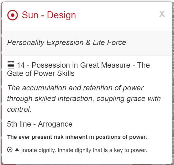 My Unconscious Core Essence. Rave I-Ching image via MyBodygraph.com