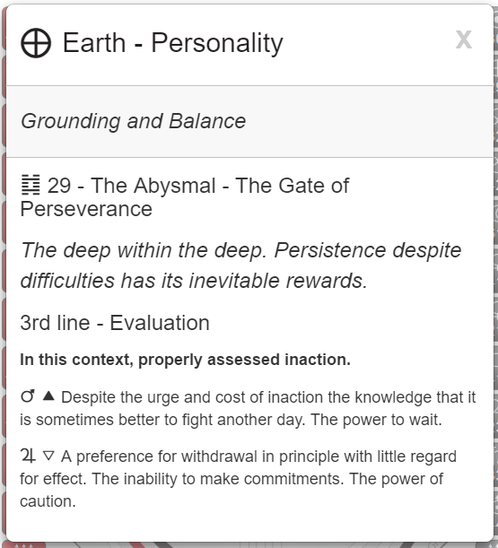 My Conscious Grounding and Balance.  Rave I-Ching image via MyBodygraph.com