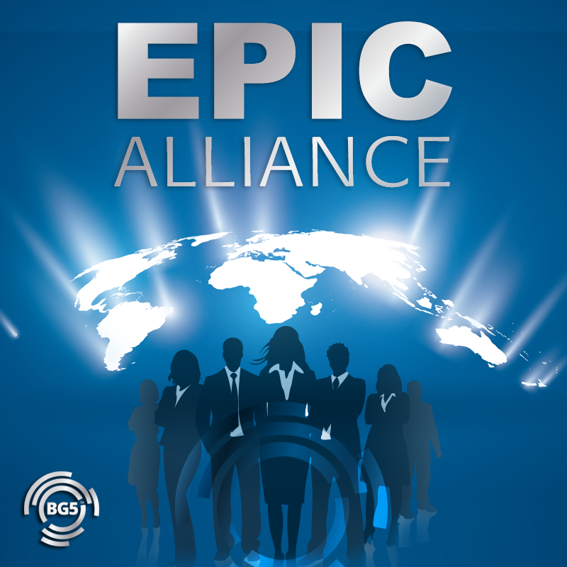 Proud Member of the EPIC Alliance • Enrichment • Program for • International • Consultants We BG5 Consultants are aligned with our mission to empower our clients with a career and business they love. We connect regularly to collaborate as well as be empowered and supported in sharing experiences, building our consulting business and deepening our BG5 knowledge.